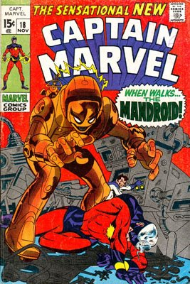 Captain Marvel # 18 Issues V01 (1968 - 1979)
