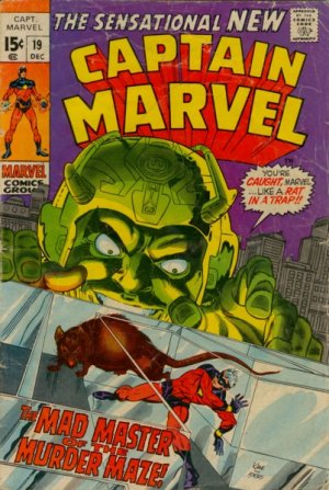 Captain Marvel # 19 Issues V01 (1968 - 1979)