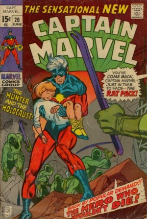 Captain Marvel # 20 Issues V01 (1968 - 1979)