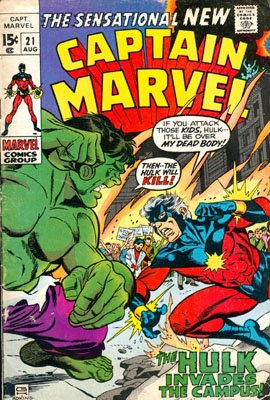 Captain Marvel # 21 Issues V01 (1968 - 1979)