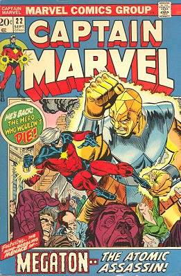 Captain Marvel # 22 Issues V01 (1968 - 1979)
