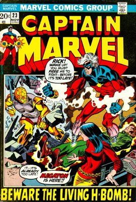 Captain Marvel # 23 Issues V01 (1968 - 1979)