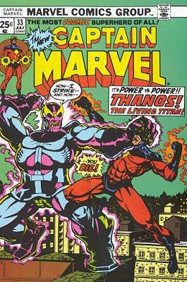 Captain Marvel # 33 Issues V01 (1968 - 1979)