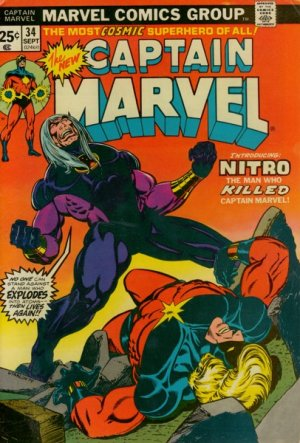 Captain Marvel # 34 Issues V01 (1968 - 1979)