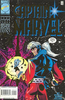Captain Marvel édition Issues V04 (1995 - 1996)