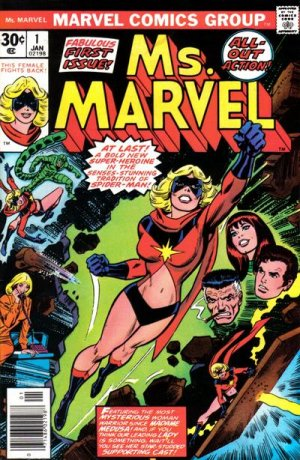 Ms. Marvel édition Issues V1 (1977 - 1979)
