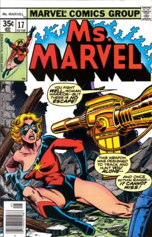 Ms. Marvel 17 - Shadow of the Gun!