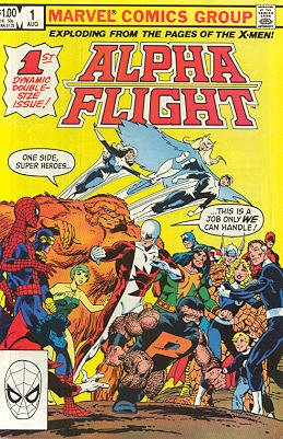 Alpha Flight # 1 Issues V1 (1983 - 1994)