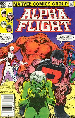 Alpha Flight # 2 Issues V1 (1983 - 1994)