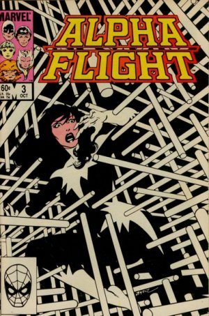 Alpha Flight # 3 Issues V1 (1983 - 1994)
