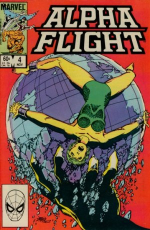 Alpha Flight # 4 Issues V1 (1983 - 1994)