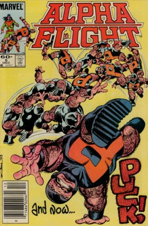 Alpha Flight # 5 Issues V1 (1983 - 1994)