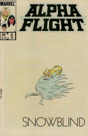 Alpha Flight # 6 Issues V1 (1983 - 1994)