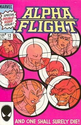 Alpha Flight # 12 Issues V1 (1983 - 1994)