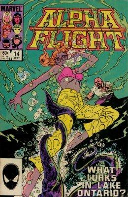 Alpha Flight # 14 Issues V1 (1983 - 1994)