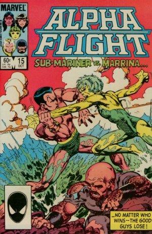 Alpha Flight # 15 Issues V1 (1983 - 1994)