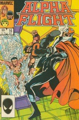 Alpha Flight # 16 Issues V1 (1983 - 1994)