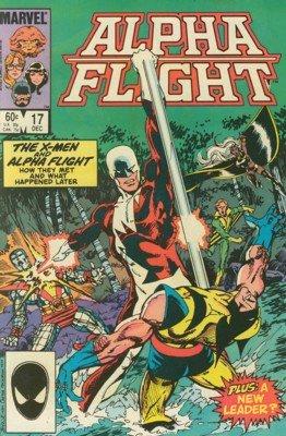 Alpha Flight # 17 Issues V1 (1983 - 1994)
