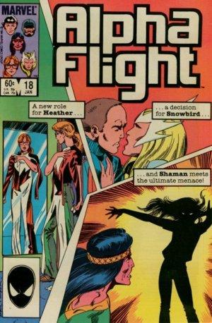 Alpha Flight # 18 Issues V1 (1983 - 1994)