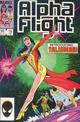 Alpha Flight # 19 Issues V1 (1983 - 1994)