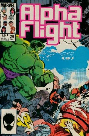 Alpha Flight # 29 Issues V1 (1983 - 1994)