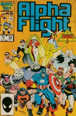 Alpha Flight # 39 Issues V1 (1983 - 1994)