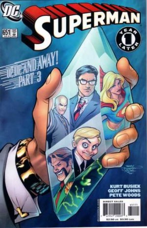 Superman 651 - Up, Up and Away!, Chapter 3: Bare Hands
