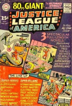 Justice League Of America # 39