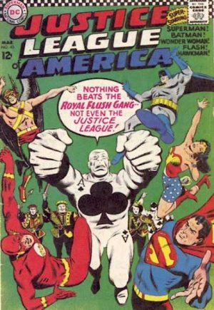 Justice League Of America # 43