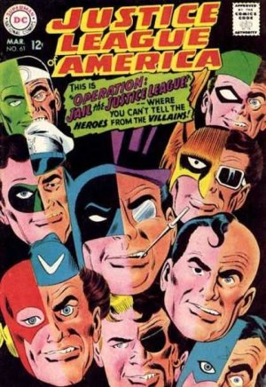 Justice League Of America # 61