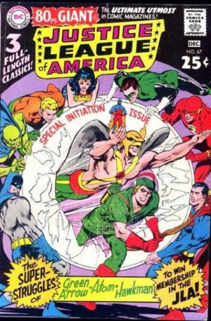 Justice League Of America # 67