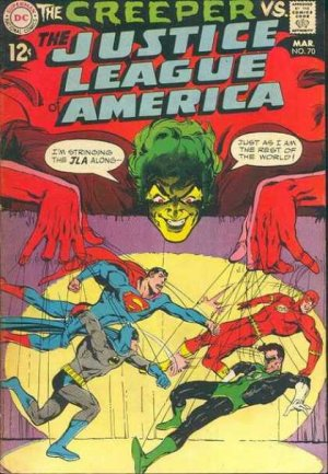 Justice League Of America # 70