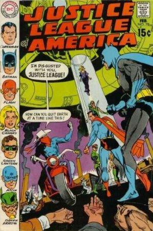 Justice League Of America # 78