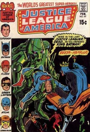 Justice League Of America # 87