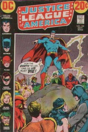 Justice League Of America # 102