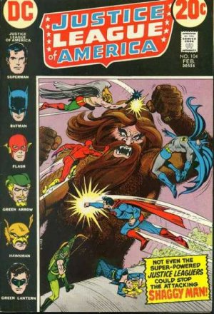 Justice League Of America # 104