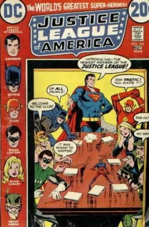 Justice League Of America # 105