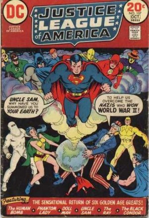 Justice League Of America # 107