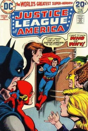 Justice League Of America # 109