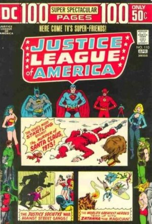 Justice League Of America # 110