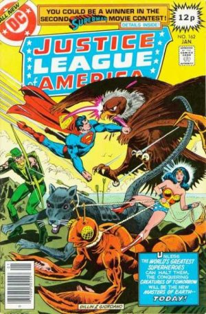 Justice League Of America # 162