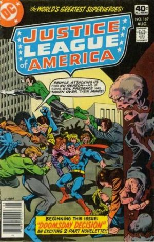 Justice League Of America # 169