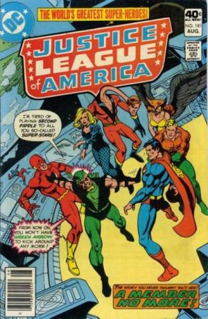 Justice League Of America # 181
