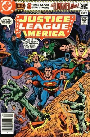Justice League Of America # 182