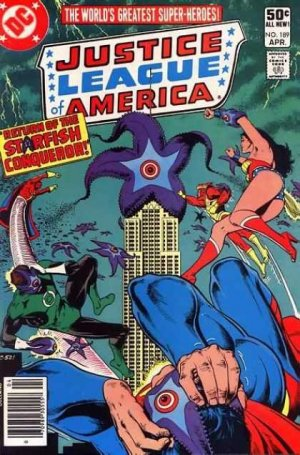 Justice League Of America # 189