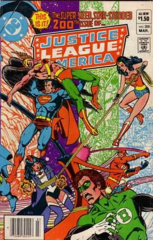 Justice League Of America # 200