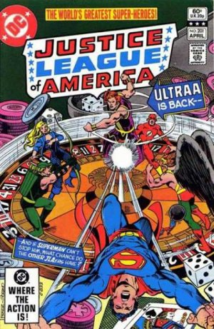 Justice League Of America # 201