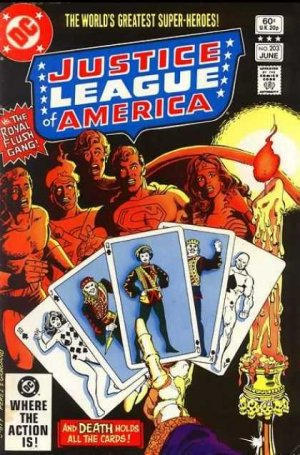Justice League Of America # 203