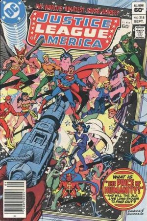 Justice League Of America # 218