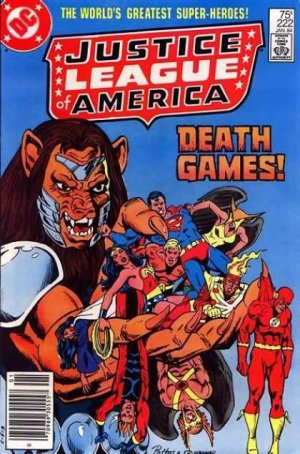 Justice League Of America # 222